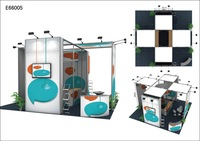 Free shipping by sea-frameless booth / trade show booth,customized size, one set for different designs, item-E66005