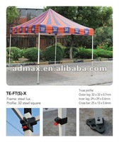 Free Shipping-Steel Pop up tent canopy (Square-leg)-32mm heavy duty frame with canvas bag