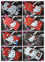 New Hello kitty case Cartoon Series Matte Hello kitty Cell phone cover case for iphone 5/5S