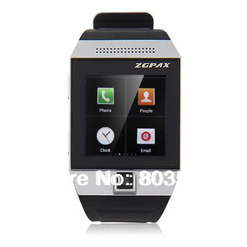 ZGPAX S5 Smartphone Smart Watch Android 4.0 MTK6577 Dual Core 1.5 Inch GPS 5.0 MP Camera free shipping(China (Mainland))