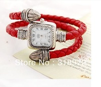 promotion snake wrist watch Retro Roman dial Woman Serpentine Bracelet wound strap Quartz Watch hot selling free shipping