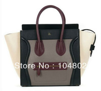 Fashion Brand Italy Leather Medium Luggage Tote Paris Women Luxury  Mixed Color Luggage Tote 1:1 Grade Brand bag Wholesale Price
