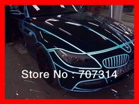 Free shipping 45M/roll new style car reflect light sticker fluorescent film decorate line strip light sticker
