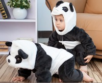 Free Shipping Hot Animal Style Panda Cotton Baby Clothes, Baby Clothing, Baby Romper, Baby Costume