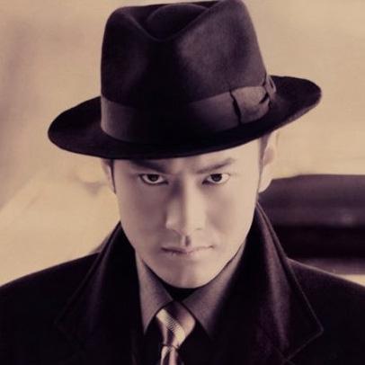 Male wool cap black big fedoras hat(China (Mainland))