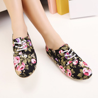 [Free shipping] 2013 New arrival fashion female preppy style lacing on comfortable flats women's shoes