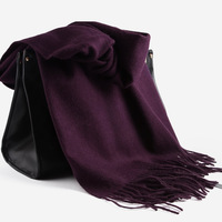 Free shipping 2013 280 pure wool scarf fashion autumn and winter female thickening thermal large cape dual