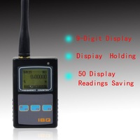 Black Handheld LCD Display For 2-way Radio Walkie Talkie Portable Mini Digital Frequency Counter