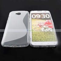 Soft S Line Gel TPU Case for LG G Pro Lite Dual D686 100pcs/Lot