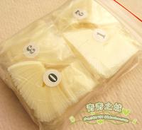 2 Pack*500 Flake/Lot, Diy nail tools natural false nail art patch Without glue Free shipping