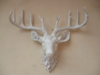 wholesale Cheap Home resin craft animal head wall mural wall decoration wall deer shoutou