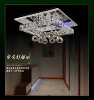 Free Shipping Modern Crystal LED Remote Control Ceiling Designs Chandelier Lamps / Lights / Lighting Fixtures (Model:CZ010/1)