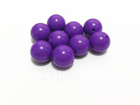 20MM 100pcs/lot Medium Purple  Acrylic  Solid  For Chunky Necklace Making