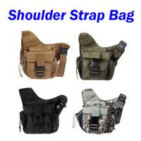 Molle Tactical Shoulder Strap Bag Pouch Travel Backpack Camera Military Bag
