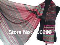100pcs/lot Fashion Geometric Tribe Bohemian Scarf Shawl Wrap Hijab Muslim Scarfs , Free Shipping