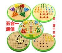 Drauhghts flight chess 331 wooden child intelligence toys