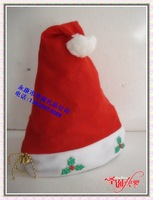 Christmas hat general cap christmas gift christmas flower hat