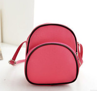 New 2013 fashion cute panda cartoon girl shoulder bag pretty style women handbags +small message bag