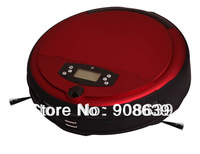 Free Shipping Voice Function Robot Washing Vacuum Cleaner With Two Side Brush+ Wet&Dry Mop+UV light+Self Recharge