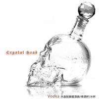20pcs Crystal Glass Shot Head Skull Shape Vodka Skull Glass Empty Bottle Decanter 330ml,gift,Fedex IE Free Shipping