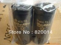Free Shipping Original 1200uf 450v/1200MFD 450VDC 50*105mm 105C Screw -pin high power Aluminum Electrolytic Capacitor