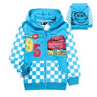 2014 New Fashion Cars boys hoodie coat Spring&autumn cotton children outwear kids boy spider-man jacket free shipping(6pcs/lot)