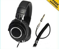 HOT sales DJ headphones by ath M50 High Quality DJ Headset with retail package freeshipping