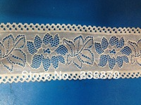Cheap! 20 yards/lot 70mm width Elastic Stretch white Lace trim DIY sewing making garment accessory decoration ribbon FREE SHIP