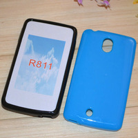 For oppo   r811 jelly sets mobile phone protective case scrub protective case shell outerwear tpu soft case