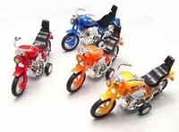 Novelty toy car WARRIOR motorcycle toy