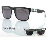 2013 new tide brand men's sports sunglasses spy + sunglasses fluorescent color mirror slice of sun glasses19#