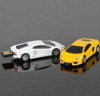 Free shipping Hot New Metal Cars Usb 2.0 memory flash stick pen thumbdrive