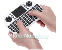 Free DHL 100 pcs Keyboard Rii i8 fly Air Mouse Remote Control Touchpad Handheld Keyboard for TV BOX PC Laptop Tablet Mini PC