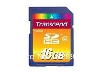 100% Original   Transcend SDHC Class10 16G  memory card   Free Shipping