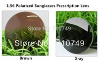 filling a prescription 1.56 polarized CR39 resin sunglasses prescription myopia HMC lenses