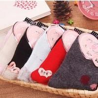 2013 new autumn and winter to keep warm rabbit wool socks  #11