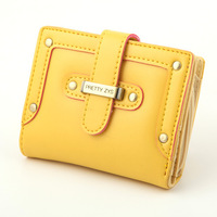 2014  New Fashion wallets mini wallets 2 folder