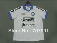 2013/14 High Thailand Quality Argentina Ca Belgrano Home White Football Soccer Jerseys Uniforms Shirts Club Kits