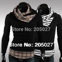 sale!2014 BEST Hotsale!men's pullovers men sweaters Men's Fashion Turtleneck  casual Sweaters M-XXL 2Colors Wholesale and Retail