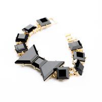 Fashion Black Quality Women's Bow Bracelet