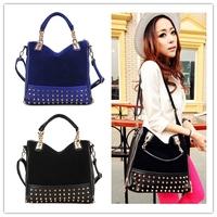 Big discount solid handbags 2014 women leather handbags clutches organizer shoulder bag tassel bag Retail and Wholesale