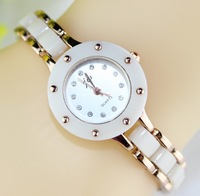 JW Women Dress Watches Crystal hours Ceramic Watch analog ladies quartz watch rose gold Hot Sale Casual watches new 2013