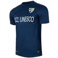 Free Shipping 13/14 Malaga away Blank Dark Blue jersey football kit cheap soccer unforms 2013-14