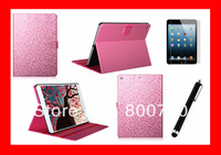 "PU Leather Case For Apple iPad Air 5 Luxury Smart Cover For ipad5 9.7"" With Stand +1Stylush +1Screen Protector Free Shipping"