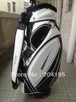 New Style NK White Golf Cart Bag PU Waterproof Golf Bag Hot Sale Golf Bag Top Quality Free Shipping