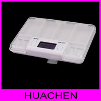 #7867 Multi-functional Pill Cases & Splitter pills reminder  keeping in good health to remind the timer