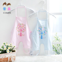 Free Shipping Baby apron baby summer newborn navel infant 100% cotton clothes