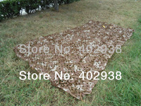 3x5M Desert Color Hunting Camping Outdoor CS Camo  Outdoor Net Leaves Indoor Adornment Free Shipping