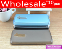 10 pieces/lot Transparent Pudding Soft Skin Gel Case For LG Optimus G2 mobile phone bags & cases Fits Optimus G2 Cover