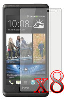 8x LCD Screen Protector Film for HTC DESIRE 600 Dual Sim/606w